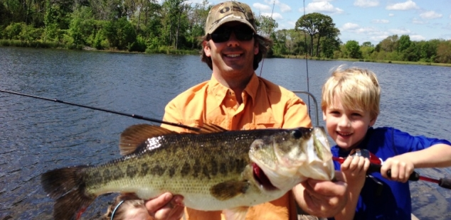 Lathram Pou and kids at Ben Wheeler Twin Lakes