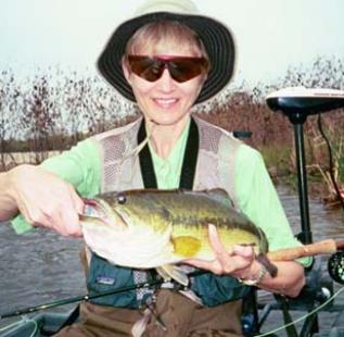 Cynthia's biggest bass